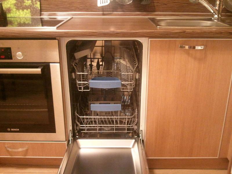 Подключение посудомоечной машины в Тюмени - Работа 3