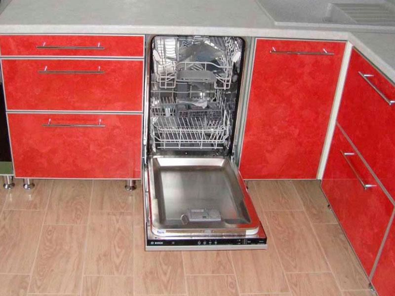 Подключение посудомоечной машины в Тюмени - Работа 1